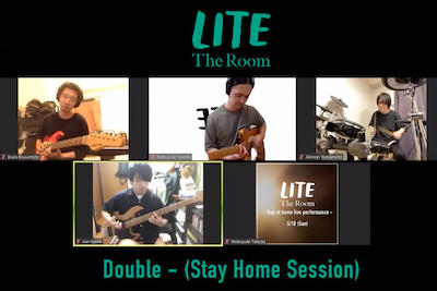 Double (Stay Home Session)をYouTubeに公開しました。