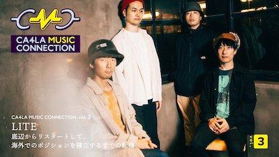 CA4LA MUSIC CONNECTIONのインタビューが掲載されました。