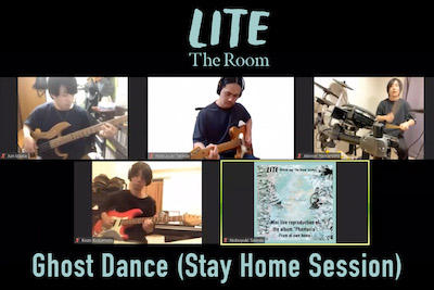 Ghost Dance (Stay Home Session)をYouTubeに公開しました。