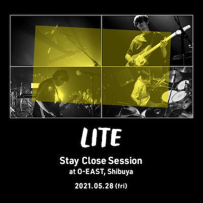 渋谷O-EASTでワンマンライブ「Stay Close Session」を開催が決定しました。