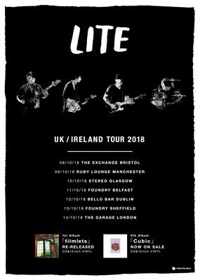 10月にUK / IRELAND TOURが決定しました。