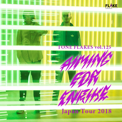 AIMING FOR ENRIKE JAPAN TOUR 2018 出演決定しました。